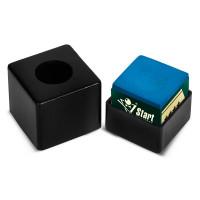 Пенал для мела пластиковый Startbilliards (черный)