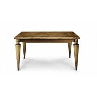 Стол с каменной столешницей Модена квадратный