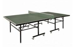 Теннисный стол LIJU, 16 мм, колеса 50 мм, зеленый D9902