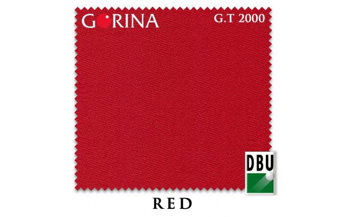 Сукно Gorina Granito Tournament 2000 197см Red