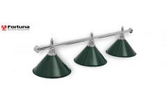 Светильник Fortuna Prestige Silver Green 3 плафона