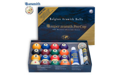 Шары Super Aramith Pro-Cup Value Pack Pool ø57,2мм
