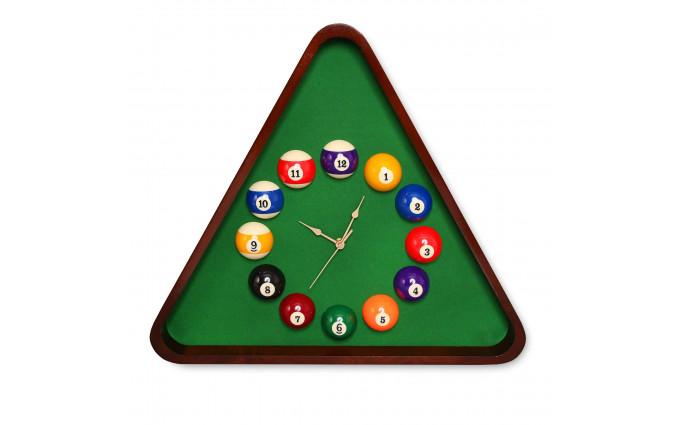 Часы Fortuna Бильярд TR2630 махагон 50х57см