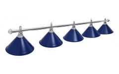 Светильник Prestige Silver Blue 5 плафонов