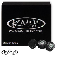 Наклейка для кия Kamui Snooker Black ø11мм Medium 1шт.