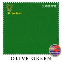 Сукно Strachan Superfine Anti-kick Snooker 193см Olive Green