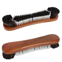 Щетка 12 конский волос коричневая 30см