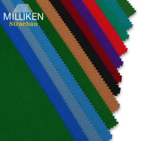 Образцы сукна Milliken Strachan 34,5х27см 3 вида 11 цветов 13шт.