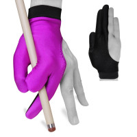 Перчатка Fortuna Classic фиолетовая/черная XL