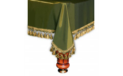 Покрывало Венеция 9фт шёлк олива