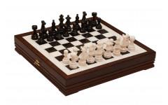 Шахматы каменные Европейские 43х43 см (3,50