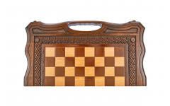 Шахматы + нарды резные Бриз-2 50, Haleyan