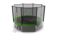 Батут EVO JUMP External 12ft (Green) + Lower net