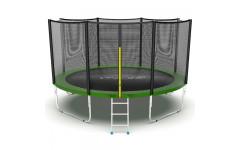 Батут EVO JUMP External 12ft (Green)