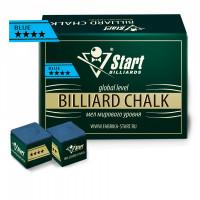 Мел Startbilliards 4 звезды синий (72шт)
