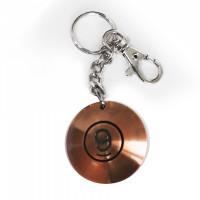 Брелок кольцо, напыление бронза 9996