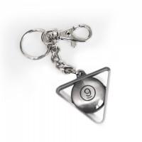 Брелок треугольник, напыление хром 9993