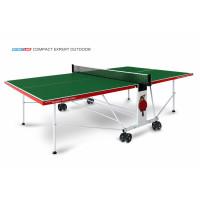 Теннисный стол Start Line Compact Expert Outdoor green